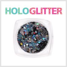[ALICA 엘리카] 홀로글리터 다이아2mm 미러블랙 -H208-