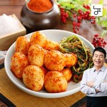 [늘품은] 총각김치 5kg (김하진이 추천한 김치)