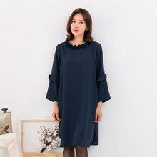 마담4060 엄마옷 블랙진주원피스 ZOP910010