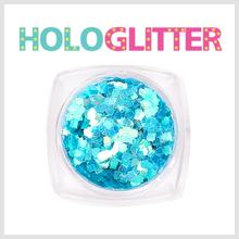 [ALICA 엘리카] 홀로글리터 사각2mm 오팔블루 -H206-