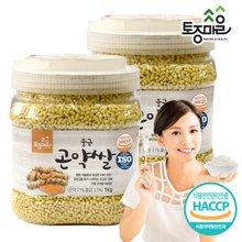 [토종마을]HACCP인증 울금 곤약쌀 1kg X 2개 (총 2kg)