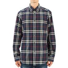 [버버리] 빈티지 체크 포플린 CAXTON 8020865 A1960 남자 셔츠