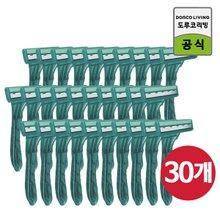 도루코 TOUCH3 면도기 3Px10개(30개)/3중날/회전식/일회용