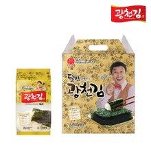 [광천김] 달인 김병만의 8호 선물세트(재래식탁15g x 12봉)