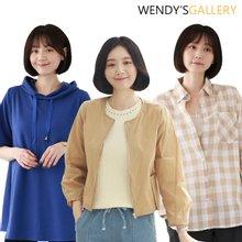 [웬디즈갤러리]바반야 미니체크 셔츠 TSH002