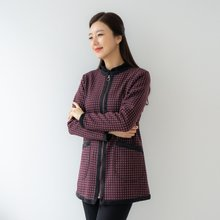 마담4060 엄마옷 라운드패턴자켓-ZJK001001-