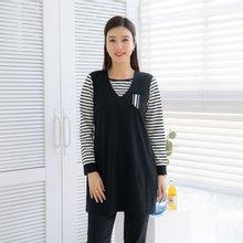 마담4060 엄마옷 단가라레이어드티셔츠 ZTE002016