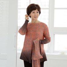마담4060 엄마옷 이지플리츠블라우스-ZBL001005-