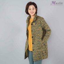 잔꽃와이어카라 면자켓 -JK8030610-모슬린 엄마옷