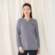 마담4060 엄마옷 체크포켓티셔츠 ZTE002013