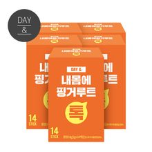 [무료배송2+1] 데이앤 내몸에 핑거루트스틱분말 14포x5박스(70포)