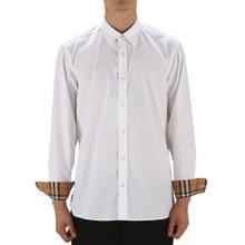 [버버리] 스트레치 포플린 WILLIAM 8008703 A1464 남자 셔츠