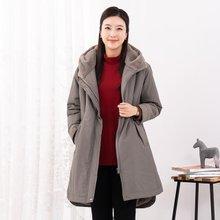 마담4060 엄마옷 데일리후드털점퍼-ZJP912035-