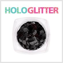 [ALICA 엘리카] 홀로글리터 육각3mm 블랙 -H194-