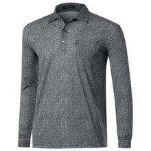 [파파브로]남자 국산 스판 카라 패턴 티셔츠 LM-A9-253-그레이