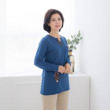 마담4060 엄마옷 행복한소녀티셔츠 ZTE002009