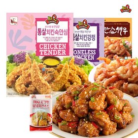 BBQ 닭강정/왕깐쇼새우 세트