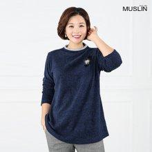 엄마옷 모슬린 밍크리본 겉기모티셔츠 TP809063