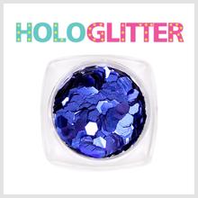 [ALICA 엘리카] 홀로글리터 육각3mm 딥블루 -H189-