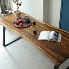 우드인미 장미목 6인용 원목식탁 테이블2000-ap/로즈우드/호피목/원목책상/식탁테이블