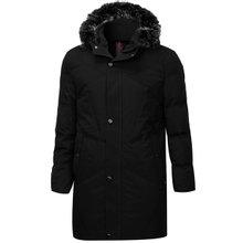 [파파브로]남성 겨울 덕다운 코트 롱패딩 점퍼 PC-W8-31-블랙