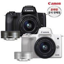 캐논 EOS M50+15-45+22mm 더블킷 블랙