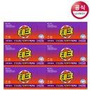 [테크] 간편시트 세탁세제 36매 x6개 로맨틱 플라워/후레쉬 브리즈