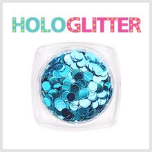 [ALICA 엘리카] 홀로글리터 라운드3mm 아쿠아블루 -H182-