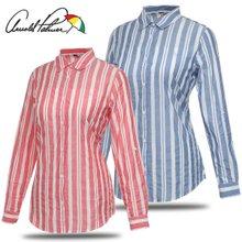[아놀드파마] 순면 빅 스트라이프 여성 긴팔 셔츠/남방/골프웨어_243187