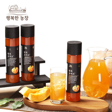 행복한 농장 발효 호박초/호박식초 3병(480mlX3병)+추가증정-행복한 농장 보틀