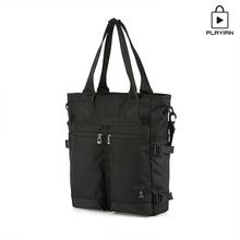 [플레이언]Two pocket tote&cross bag_투포켓 토트&크로스백(PC03MBLK)