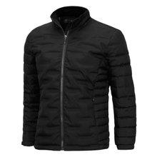 [파파브로]남성 겨울 오리털 카라 집업 자켓 패딩 점퍼 NGD-1160-블랙