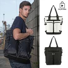 [플레이언]Two pocket tote&cross bag_투포켓 토트&크로스백 2종 택1