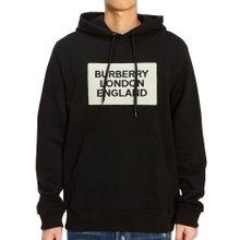 [버버리] 로고 아플리케 FARLEY 8021437 A1189 남자 후드 긴팔 맨투맨 티셔츠