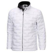 [파파브로]남성 겨울 오리털 카라 집업 자켓 패딩 점퍼 NGD-1162-화이트