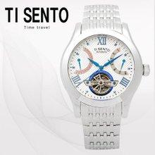티센토(TISENTO) 남성손목시계(TS50091WS/메탈밴드/오토매틱)