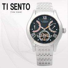 티센토(TISENTO) 남성손목시계(TS50091BS/메탈밴드/오토매틱)