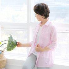 마담4060 엄마옷 창밖엔비셔츠 QBL905085