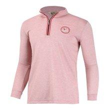 [파파브로]남성 골프웨어 긴팔 반집업 티셔츠 LM-A-T203-레드