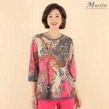 엄마옷 모슬린 페이즐리 티셔츠 TS8040626