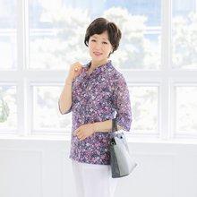마담4060 엄마옷 꽃세상블라우스 QBL905083