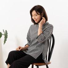 마담4060 엄마옷 뒤에포인트블라우스 QBL907141