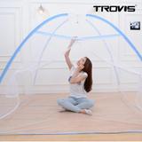 [트로비스] 해피드림 원터치 모기장 3-4인용 180cm 바닥있음