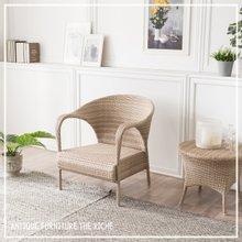 [더리체] 야외용 인조라탄 1인 의자