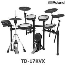 롤랜드 전자드럼 TD-17KVX 풀패키지 드럼+앰프+매트+야마하 킥패달&하이햇스탠드포함 TD17KVX 로랜드