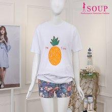 SOUP 아임파인 프린트 티셔츠(ST6ST03)
