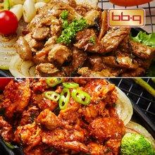 비비큐 간편 조리 닭갈비 세트 6팩(궁중+춘천)