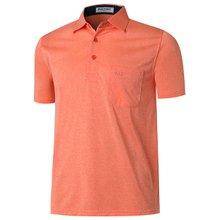 [파파브로]남성 캐주얼 반팔 카라 티셔츠 LM-H5805-6-오렌지