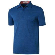 [파파브로]남성 캐주얼 반팔 카라 티셔츠 LM-H5805-29-블루