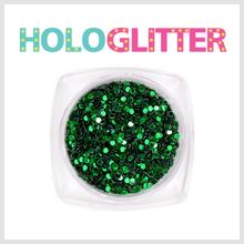 [ALICA 엘리카] 홀로글리터 라운드1mm 그린 -H164-